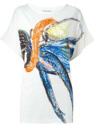 футболка с принтом  Tsumori Chisato