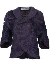 двубортный пиджак Issey Miyake