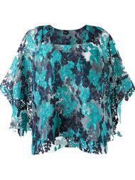 floral wide lace blouse Fernanda Yamamoto