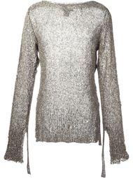 свитер с удлиненными рукавами Cedric Jacquemyn