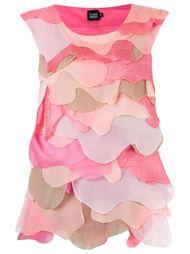 overlay sleeveless blouse Fernanda Yamamoto