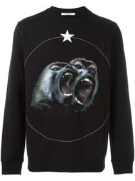 толстовка 'Monkey Brothers' Givenchy