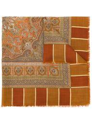 платок с контрастным принтом Balenciaga Vintage