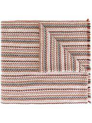 полосатый шарф Eleventy