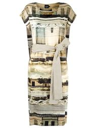 abstract print flare dress Fernanda Yamamoto