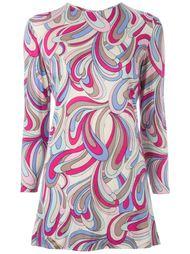 платье с принтом Emilio Pucci Vintage
