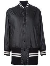 удлиненная куртка-бомбер Mm6 Maison Margiela