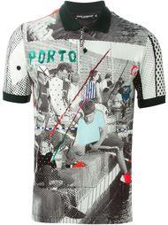 футболка-поло  с принтом 'Sicilian Mambo' Dolce & Gabbana