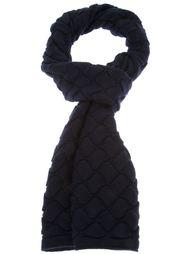 плетёный трикотажный шарф Bottega Veneta