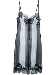 полосатое платье на бретелях Rosamosario