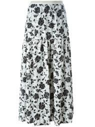 юбка А-силуэта с завышенной талией I'M Isola Marras