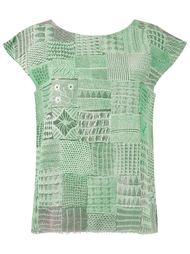 round neck lace blouse Fernanda Yamamoto