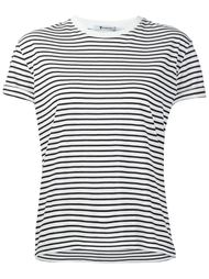 striped T-shirt   T By Alexander Wang