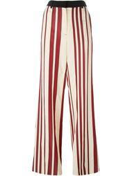 полосатые широкие брюки Sportmax