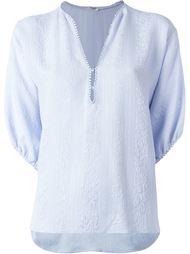 блузка c V-образным вырезом   Vilshenko