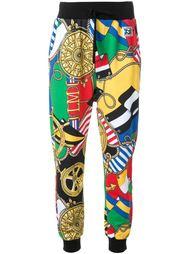 укороченные спортивные брюки Love Moschino