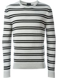 свитер в полоску  Exemplaire