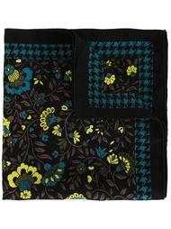 платок-паше с цветочным принтом Versace Vintage