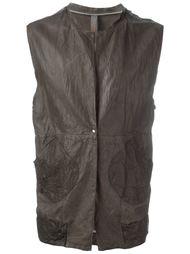 кожаный жилет Wlg By Giorgio Brato