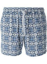 плавательные шорты с сплошным узором Capricode