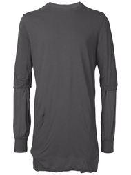 футболка 'Hustler' с длинными рукавами  Rick Owens DRKSHDW