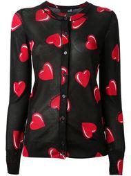 рубашка с принтом Love Moschino