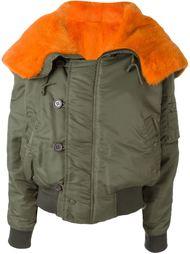 куртка с подкладкой из меха норки Liska