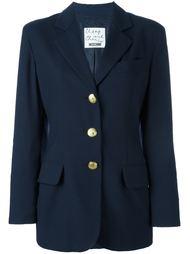пиджак на пуговицах Moschino Vintage