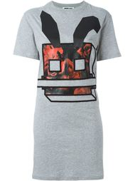 платье-футболка с Electro Bunny McQ Alexander McQueen