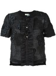 футболка с цветочным узором Fendi