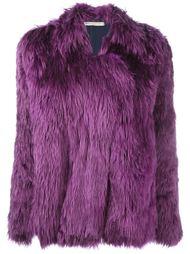 куртка из искусственного меха Balenciaga Vintage