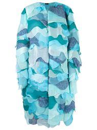 overlay coat Fernanda Yamamoto