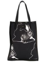 сумка-тоут с принтом кроликов Paul Smith