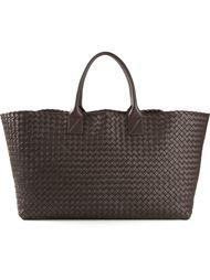 плетёная сумка Bottega Veneta