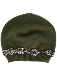 декорированная шапка-бини Nº21