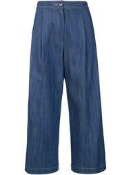 джинсовые кюлоты Adam Lippes