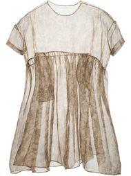 платье с цветочным принтом   Uma Wang