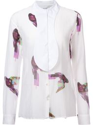 рубашка с принтом птиц Aalto