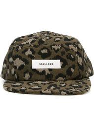кепка 'Walli' с леопардовым принтом  Soulland