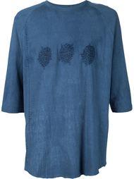 футболка с вышивкой By Walid