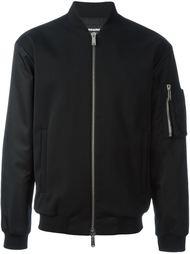 куртка-бомбер с карманом на рукаве Dsquared2