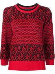 свитер с узором  Marc Jacobs