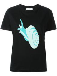 футболка с принтом улитки J.W. Anderson