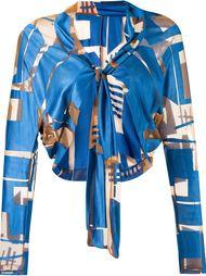 lace up bolero jacket Fernanda Yamamoto