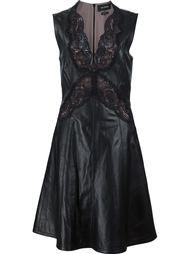 платье с кружевными деталями Yigal Azrouel