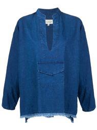 джинсовая блузка  Nili Lotan
