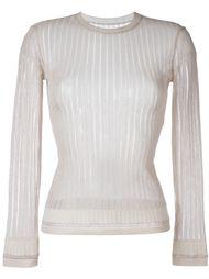 свитер в рубчик Alaïa Vintage