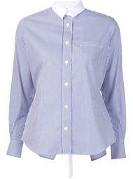 рубашка в полоску Sacai