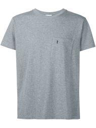 футболка с карманом  Saint Laurent