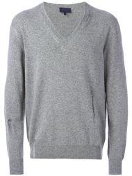 свитер с V-образным вырезом Lanvin
